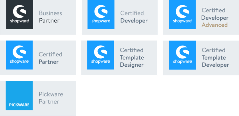 Shopware Badges