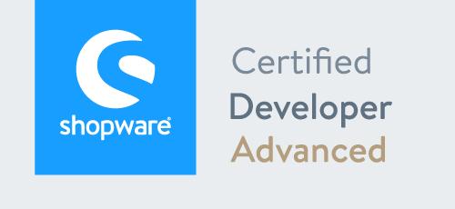 Shopware Developer Advanced Badge