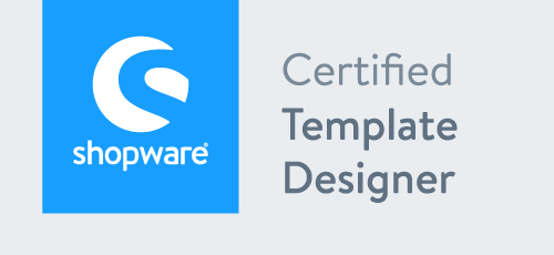 Shopware Template Designer Badge