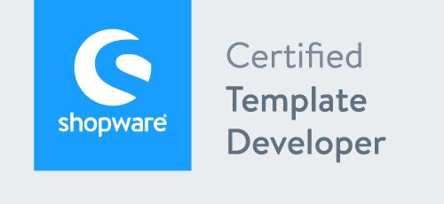 Shopware Template Developer Badge