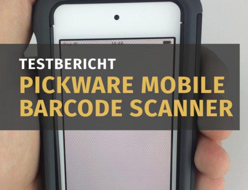 Der Pickware Mobile Barcodescanner im Test