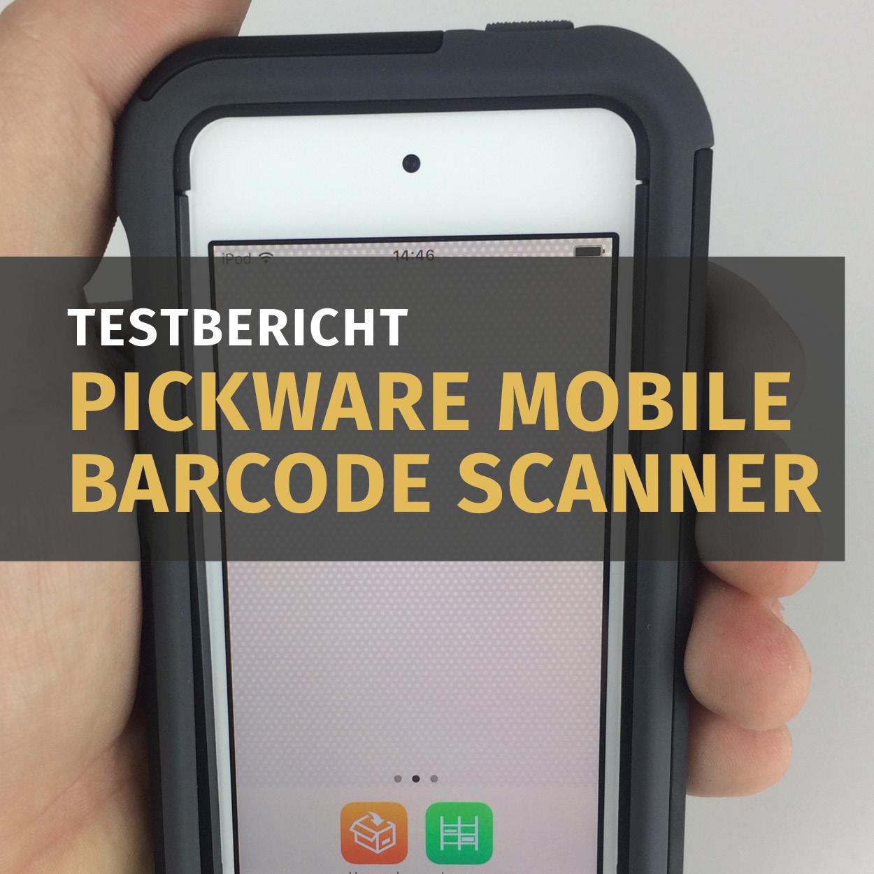 Shopware Entwickler News Pickware Mobile Barcode Scanner Testbericht